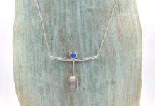 Tonight I finished a piece for a dear friend's mom (Sorry it took so long, Cheryl! I hope you love it! Sterling silver and 5mm lapis. Fabricated from an old beloved earring who'd lost her mate. #lapis #lapislazuli #customjewelry #artjewelry #metalsmith #riojeweler #bestofmissourihands #americancraftcouncil #atlanta #stlouis #portland #atl #stl #pdx